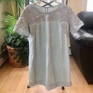 🌻 3/25 Item It's A New Day Chambray Tunic